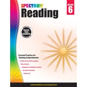 Spectrum Reading Workbook (Grade 6)