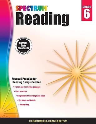 Spectrum Reading Workbook (Grade 6)