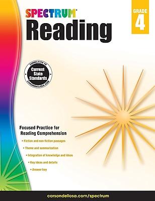 Spectrum Reading Workbook (Grade 4)