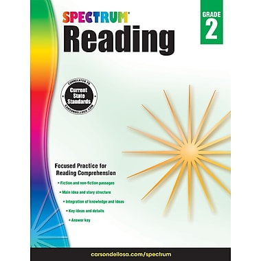 Spectrum Reading Workbook (Grade 2)