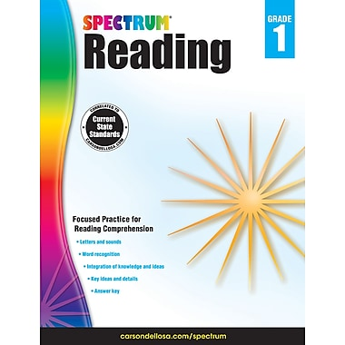 Carson-Dellosa Spectrum Reading Workbook, Grade 1 (704579)