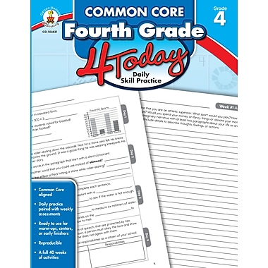 Common Core Fourth Grade 4 Today: Daily Skill Practice