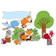Carson Dellosa Playful Foxes Bulletin Board Set (PreK - Grade 5)