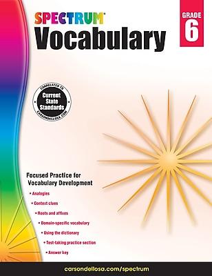 Spectrum Vocabulary (Grade 6)