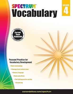 Spectrum Vocabulary (Grade 4)