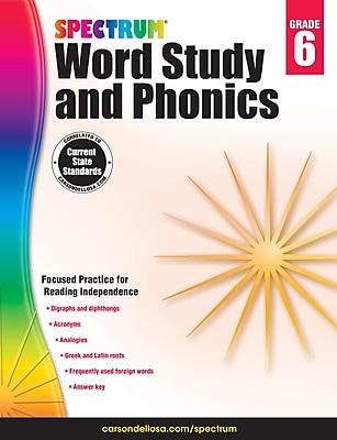 Spectrum Word Study and Phonics (Grade 6)