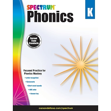 Carson-Dellosa Spectrum Phonics, Grade K (704603)