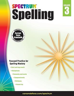 Spectrum Spelling (Grade 3) 1233590