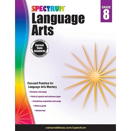 Spectrum Language Arts (Grade 8)