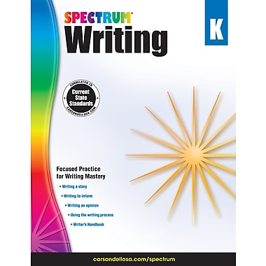 Carson-Dellosa Spectrum Writing, Grade K (704623)