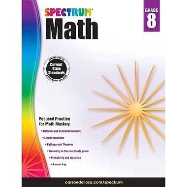 Carson-Dellosa Spectrum Math Workbook, Grade 8 (704568)