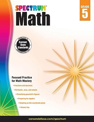 Spectrum Math Workbook (Grade 5)