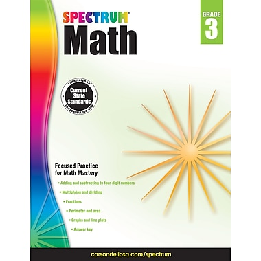 Spectrum Math Workbook (Grade 3)
