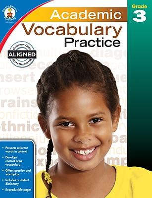 Academic Vocabulary Practice (Grade 3)