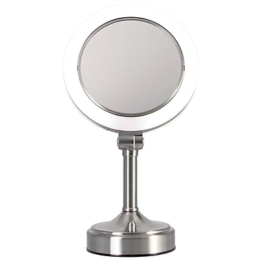 Surround Light Dimmable Sunlight Lighted Vanity Mirror 10.5