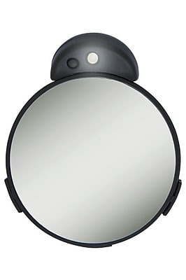 Zadro Acrylic Lighted Spot Mirror, 10X - 5X Magnification