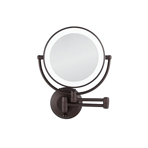 S Staples 3p Com S7 Is Images For Zadro Cordless Dual Led Lighted Round Wall Mount Mirror