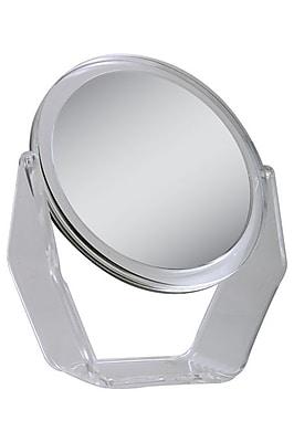 "Zadro Acrylic Dual Sided Swivel Vanity Mirror 10.75"" x 9.5"""