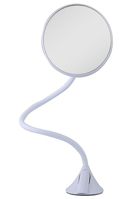 Zadro Acrylic Gooseneck Intimate Grooming Mirror