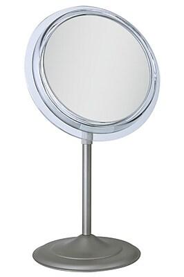 Zadro Adjustable Pedestal Vanity 9