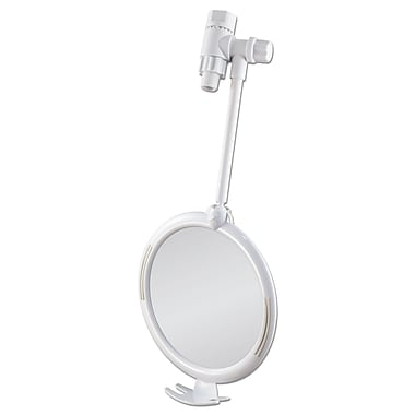 Z'FOGLESS Plastic Fogless Shower Mirror 8