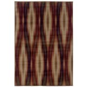 "StyleHaven Tribal Ikat Grey/ Red Indoor Machine-made Polypropylene Area Rug (3'10"" X 5'5"")"