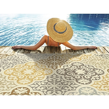 Style Haven Bali 4904W Indoor/Outdoor Area Rug