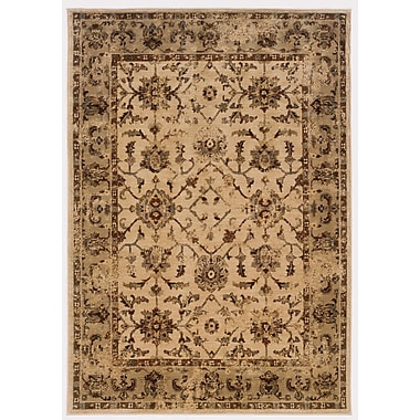 StyleHaven Floral Ivory/ Beige Indoor Machine-made Nylon/Polypropylene Area Rug (7'10