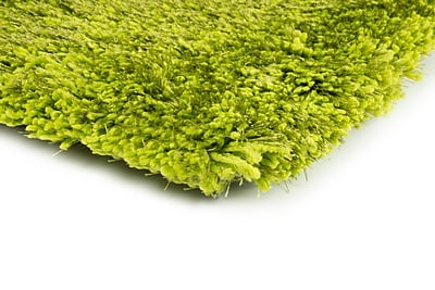 StyleHaven Shag Green/ Green Indoor Hand-made Polyester Area Rug (8' X 11')