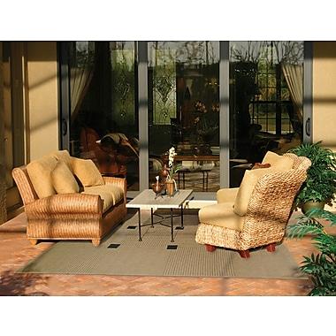 StyleHaven - Outdoor Beige/ Black Indoor/Outdoor Machine - made Polypropylene Area Rug (7'3
