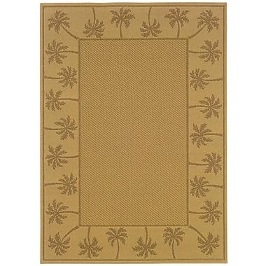 StyleHaven Outdoor Beige/ Tan Indoor/Outdoor Machine-made Polypropylene Area Rug (5'3