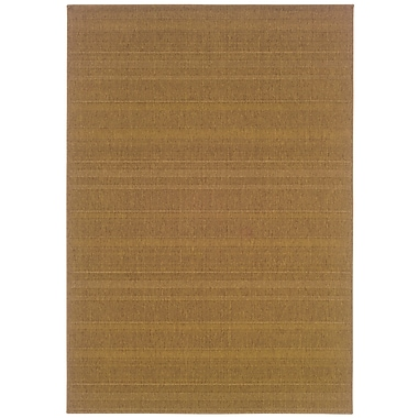 StyleHaven Outdoor Tan/ Indoor/Outdoor Machine-made Polypropylene Area Rug (3'7