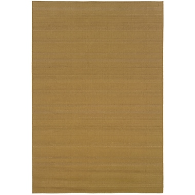StyleHaven Outdoor Beige/ Indoor/Outdoor Machine-made Polypropylene Area Rug (3'7