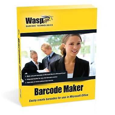 Wasp® Barcode Maker, 10 User Licenses