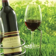 Wine Enthusiast Companies Steady Sticks Tabletop Wine Bottle Rack (Set of 2)