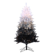 Sterling Inc 5' Black Ombre Spruce Christmas Tree w/ 250 Ul Clear Lights w/ Stand