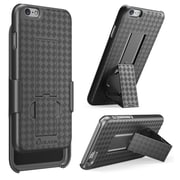 "i-Blason Apple iPhone 6 4.7"" Case - Transformer Series Slim Hard Shell Holster Combo - Black"