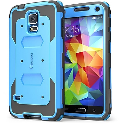 i-Blason Samsung Galaxy Note 4 Case - Armorbox Series Full Protection Case - Blue