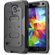 i-Blason Samsung Galaxy Note 4 Case - Armorbox Series Full Protection Case - Black