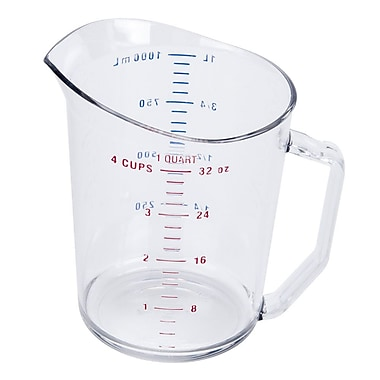 Cambro 100MCCW, 1 Quart Liquid Measuring Cup