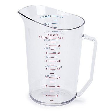 Cambro 2000MCCW, 2 Quart Liquid Measuring Cup