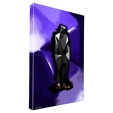 Maxwell Dickson Hexi Guy Painting Print on Wrapped Canvas; 36'' H x 24'' W