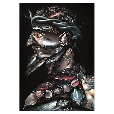 iCanvas 'The Admiral' by Giuseppe Arcimboldo Graphic Art on Canvas; 61'' H x 41'' W x 1.5'' D