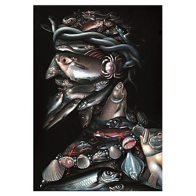 iCanvas 'The Admiral' by Giuseppe Arcimboldo Graphic Art on Canvas; 26'' H x 18'' W x 1.5'' D