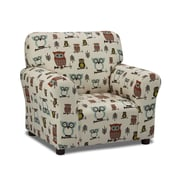 KidzWorld Hooty Village/Natural Kids Cotton Club Chair