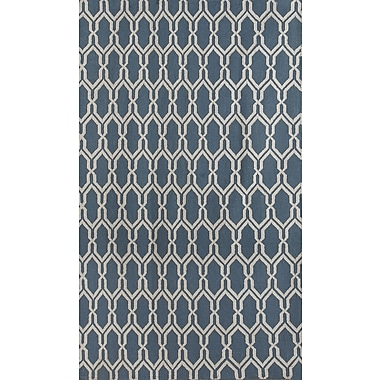 AMER Rugs Zara Dark Blue Area Rug; 3' x 5'
