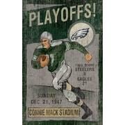 Imperial NFL Vintage advertisement; Philadelphia Eagles