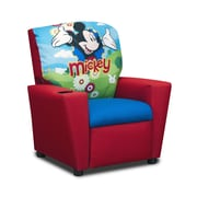 KidzWorld Disney's Mickey Mouse Clubhouse Kids Cotton Recliner Chair w/ Cup Holder