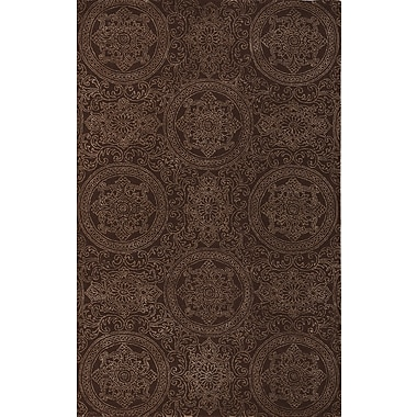 AMER Rugs Ascent Tracy Chocolate Area Rug; 5' x 8'