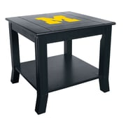 Imperial NCAA End Table; University Of Michigan